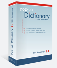 Pop-Up Dictionary
